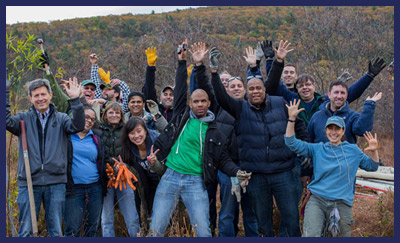 Hudson River Valley Tree Planting